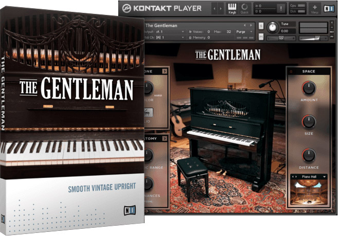 Native Instruments The Gentleman v1.2.0 KONTAKT