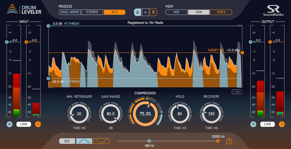 Sound Radix Drum Leveler v1.0.0 WiN