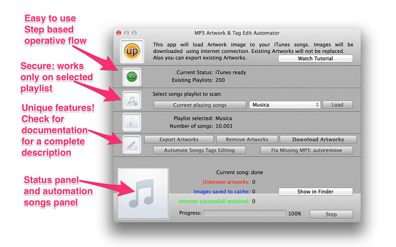 MP3 Art & Tag v1.4 Retail Mac OS X