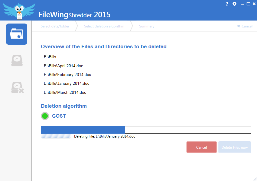 Abelssoft FileWing Shredder v2015.4.0