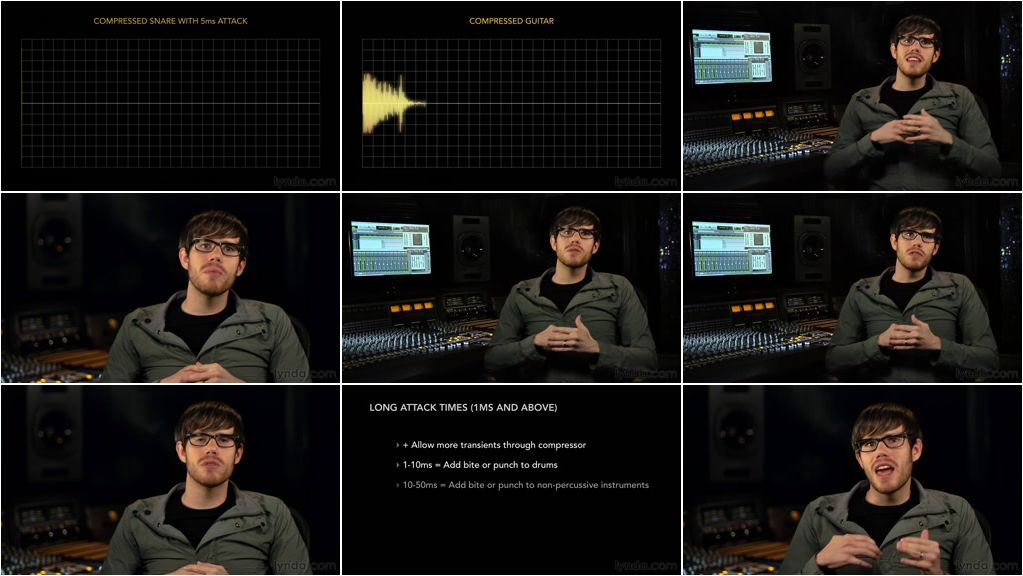 Lynda - Foundations of Audio: Compression and Dynamic Processing [Repost]