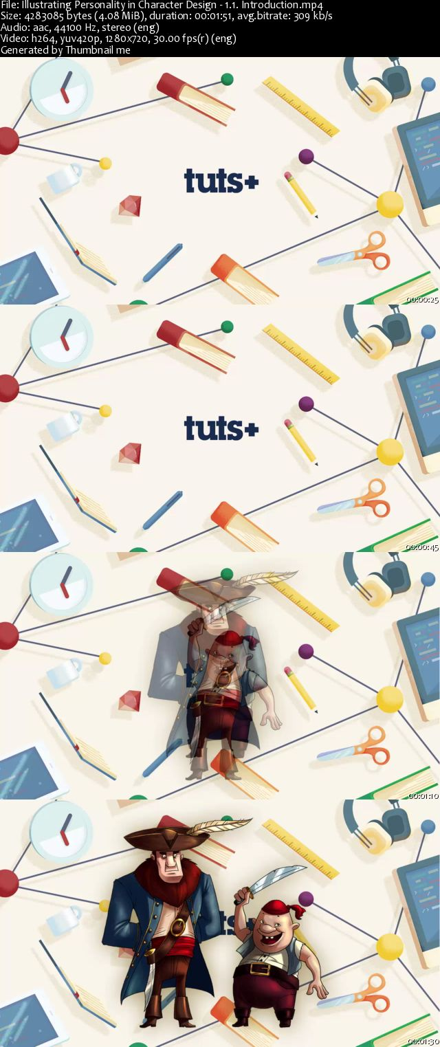 Tutplus - Illustrating Personality in Character Design
