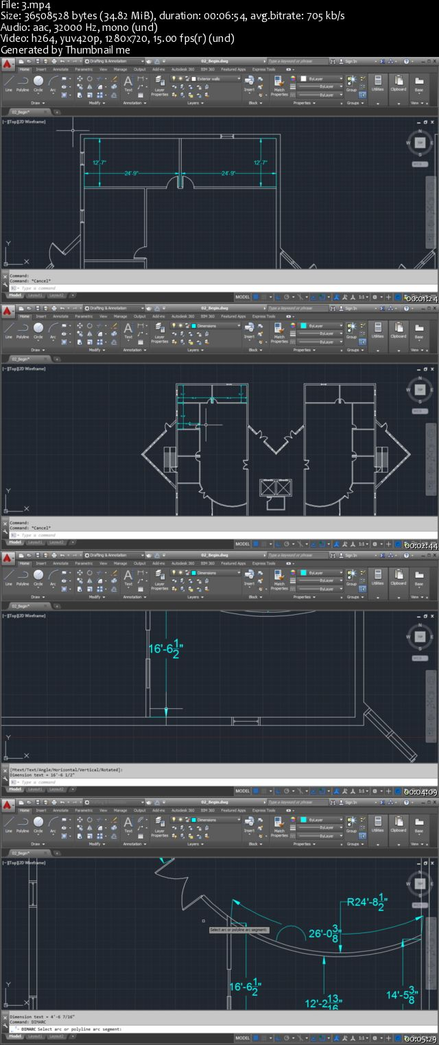 Dixxl Tuxxs - Annotating Architectural Drawings in AutoCAD 2015