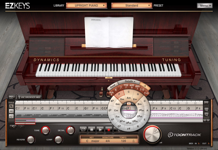 Toontrack EZkeys Upright Piano v1.0.2 Update WiN MacOSX