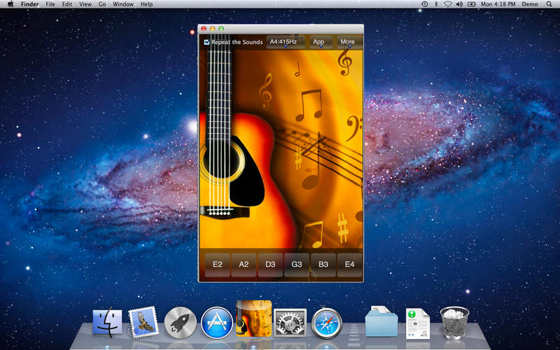 Easy Guitar Tuner v1.6 Retail Mac OS X