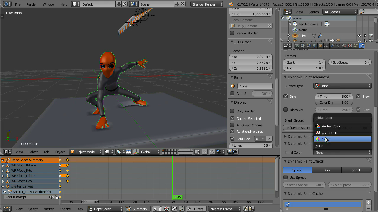 CgCookie - Parkour Character Animation in Blender (2014)