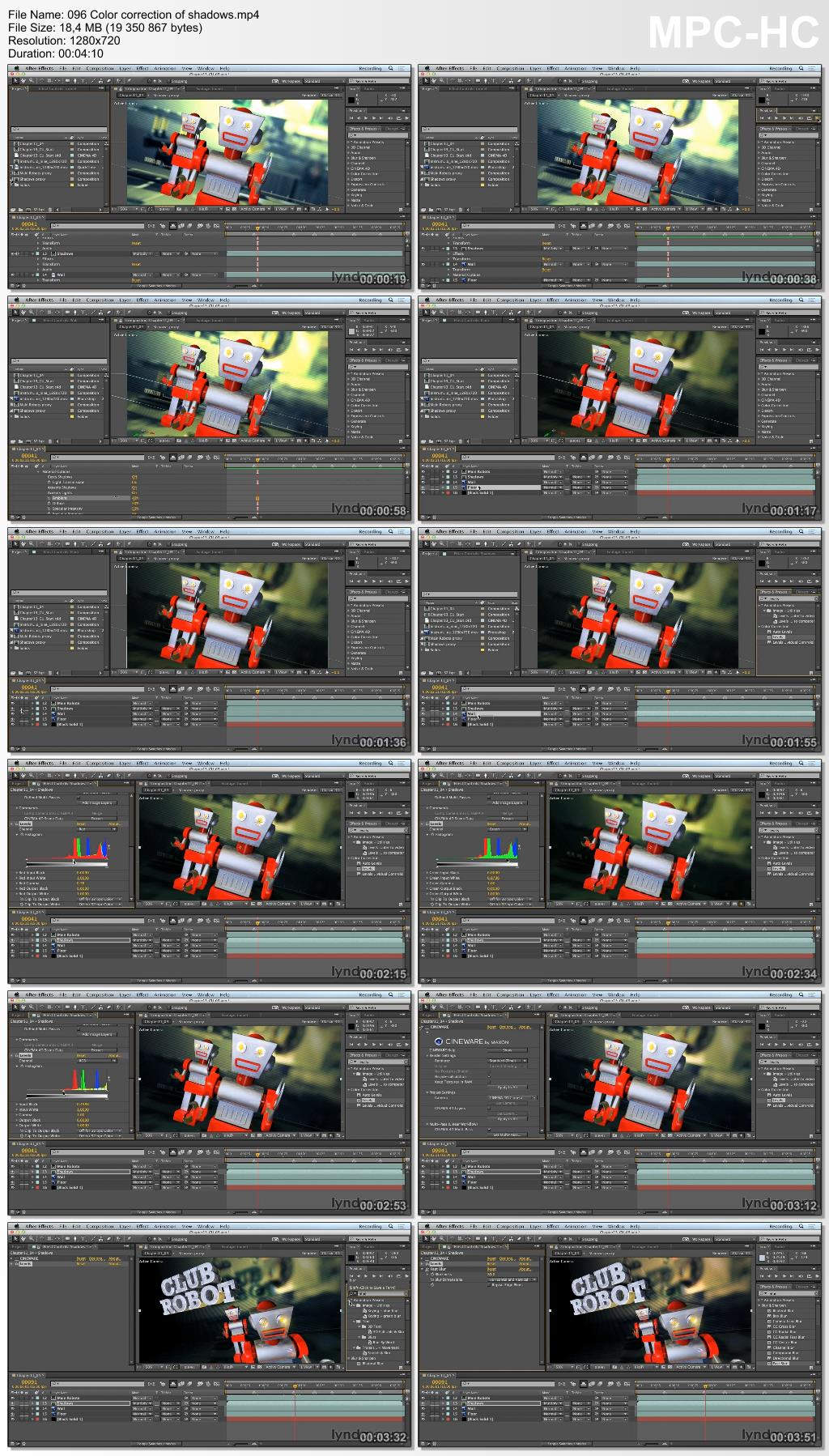 Lynda - Up and Running with CINEMA 4D Lite for After Effects (updated Jan 15, 2015)
