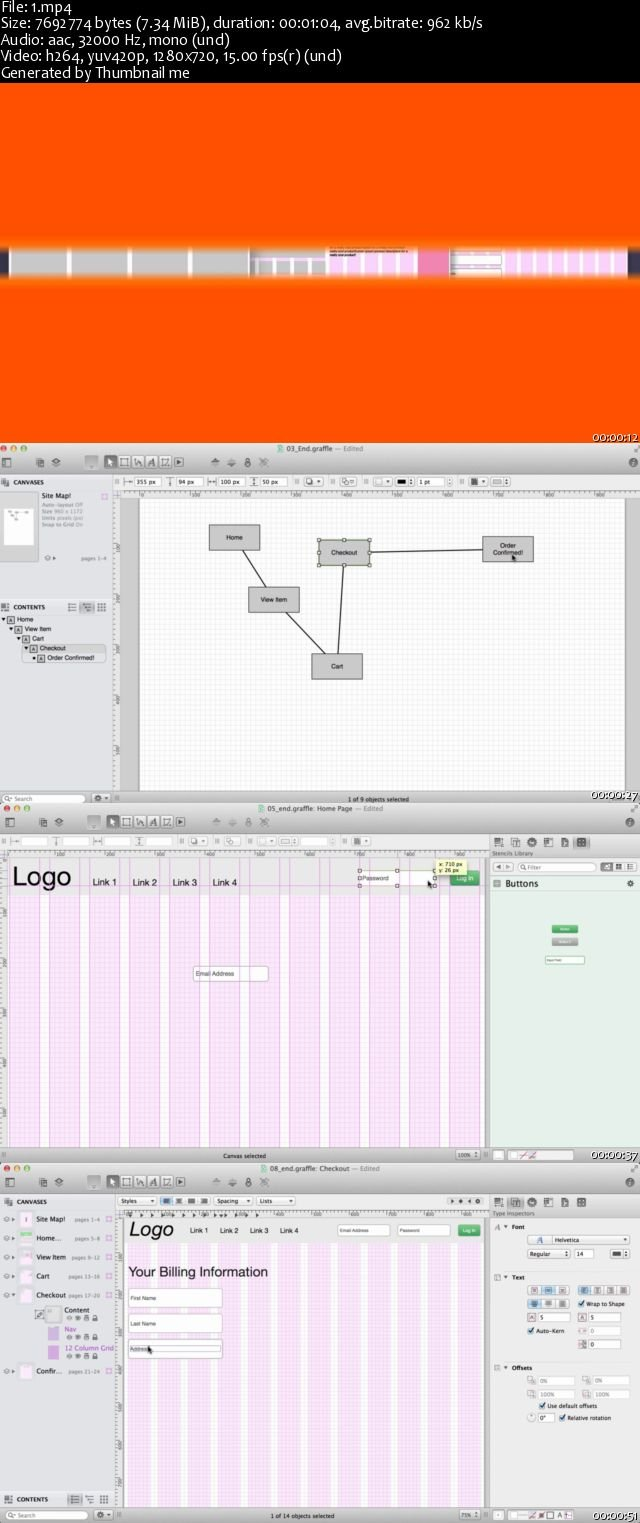 Developing Rapid Interactive Prototypes in OmniGraffle