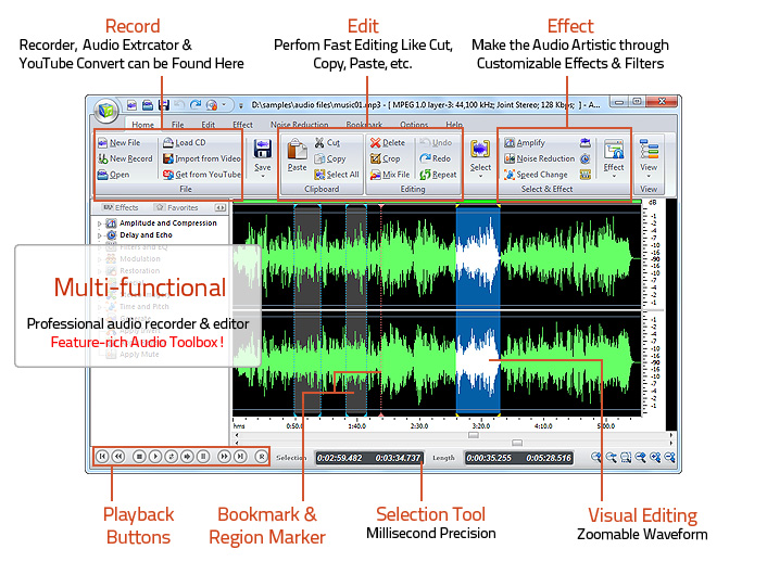 Audio Record Edit Toolbox Pro 14.0.2