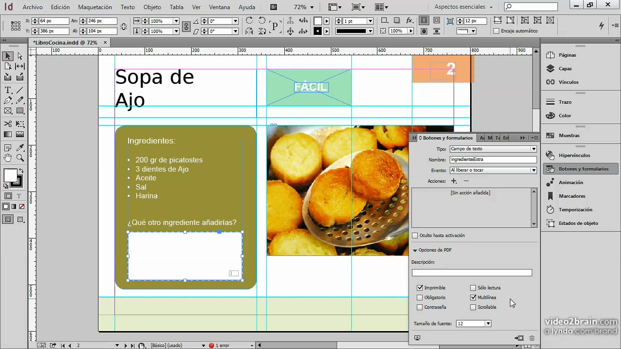 Publicaciones digitales: InDesign y HTML5 con in5