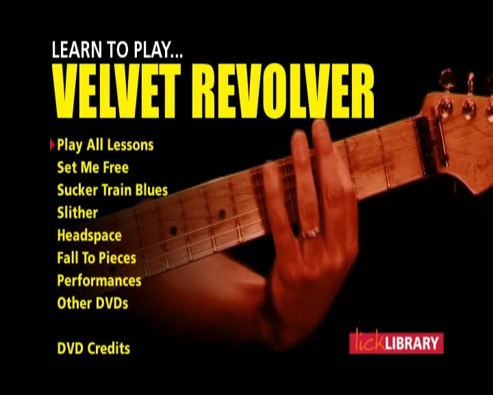 Learn to play Velvet Revolver [repost]
