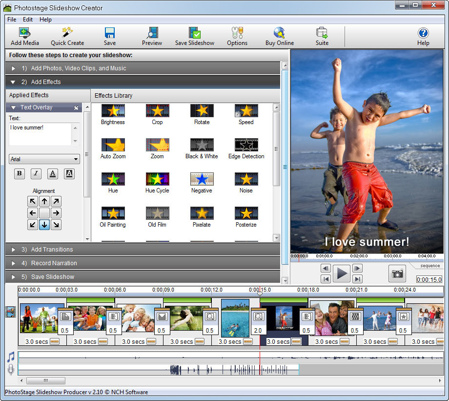 PhotoStage Slideshow Producer Professional 3.04