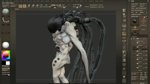 Gumroad - Character Creation in ZBrush (2014)