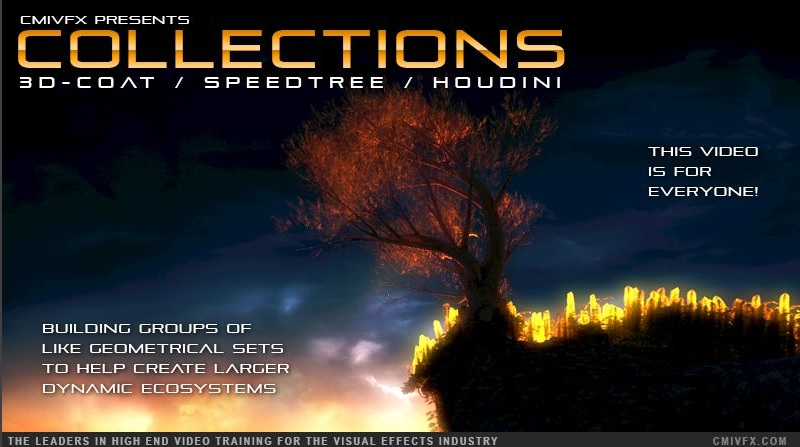CMIVFX - Speedtree Collections With 3D-Coat and Houdini