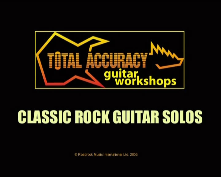 Learn To Play Classic Rock - Guitar Solos