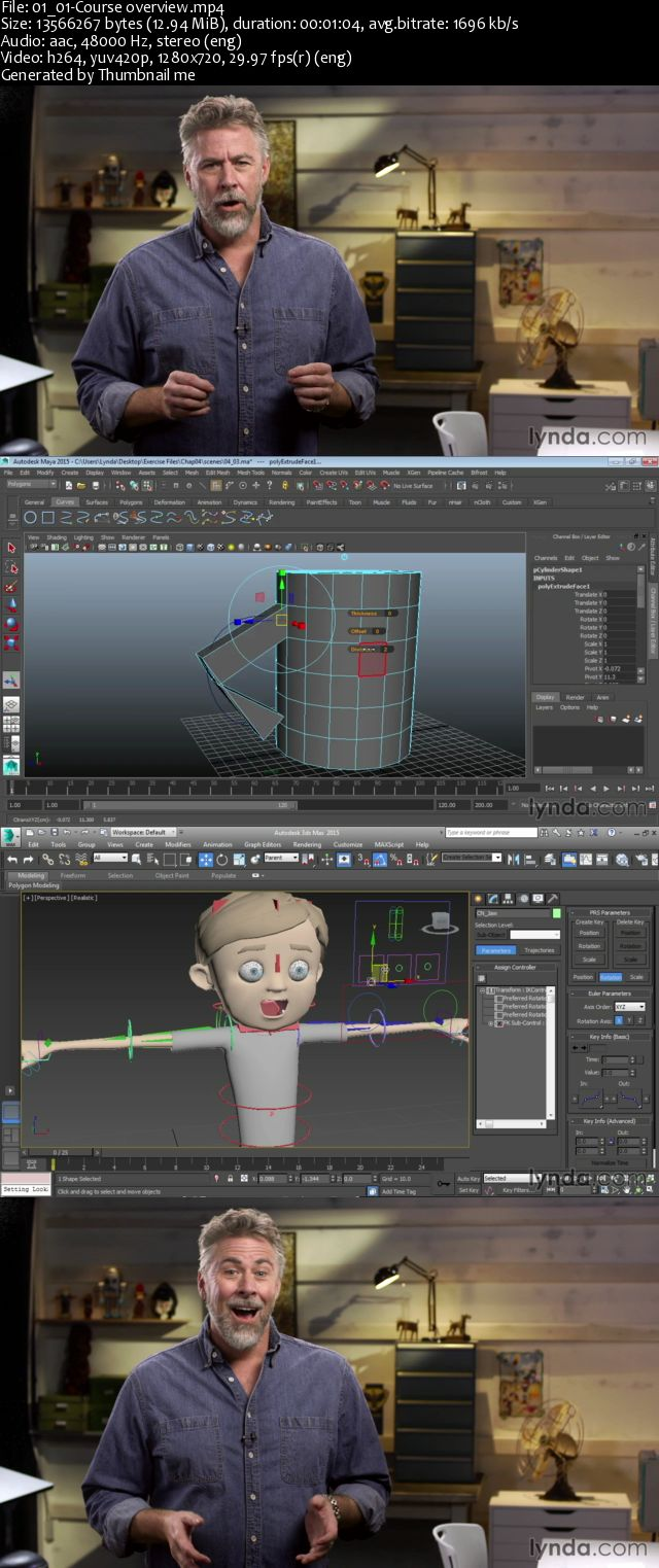 Getting Started in 3D and Animation