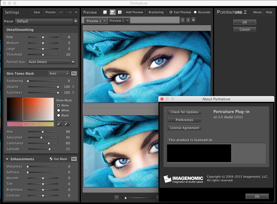 Imagenomic Professional Plugin Suite for Adobe Photoshop and Photoshop Elements build 1411 Mac OS X