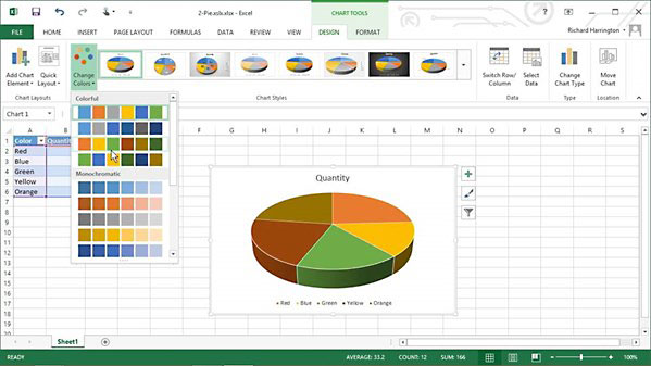 Lynda - Excel 2013: Working with Charts and Graphs