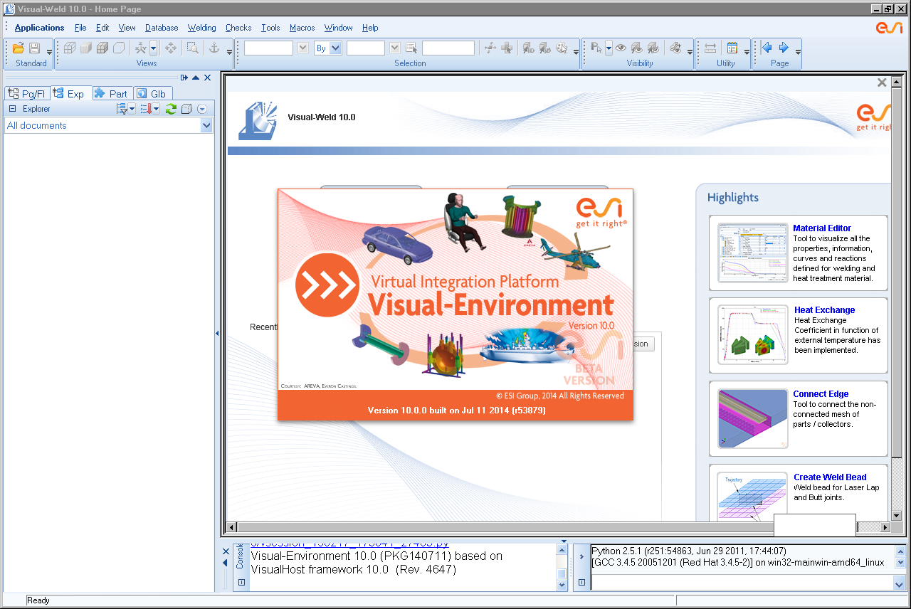 ESI Visual-Environment 10.0 Linux