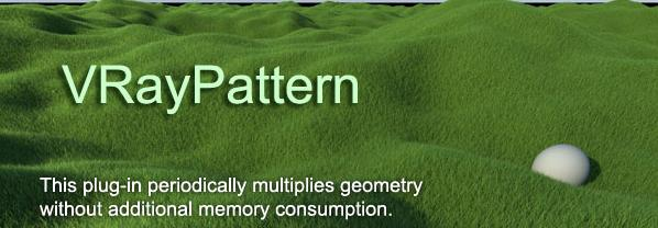 VRayPattern 1.068 for 3ds Max 2014-15