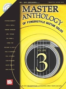 Mel Bay's Master Anthology of Fingerstyle Guitar Solos Vol. 3 screenshot