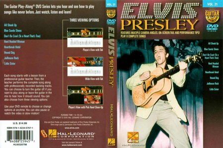 Guitar Play-Along: Volume 21 - Elvis Presley [repost]