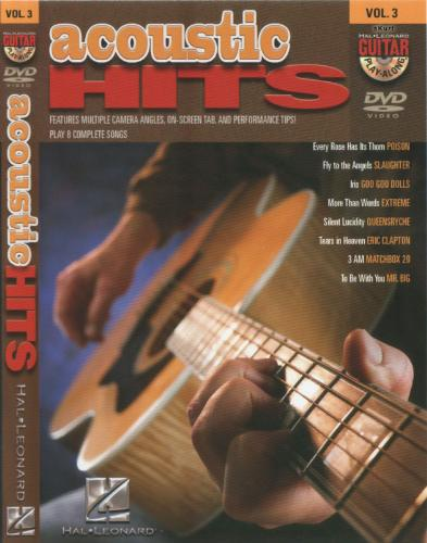 Guitar Play-Along: Volume 3 - Acoustic Hits [repost]