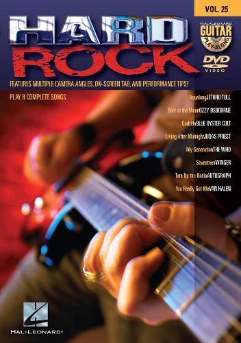 Guitar Play-Along: Volume 25 - Hard Rock [repost]