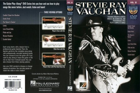 Guitar Play-Along: Volume 32 - Stevie Ray Vaughan [repost]