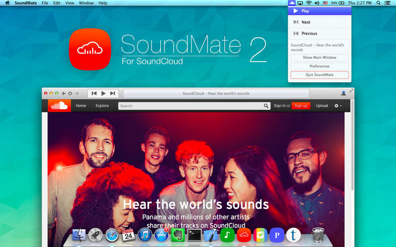 SoundMate For SoundCloud v2.30 Mac OS X