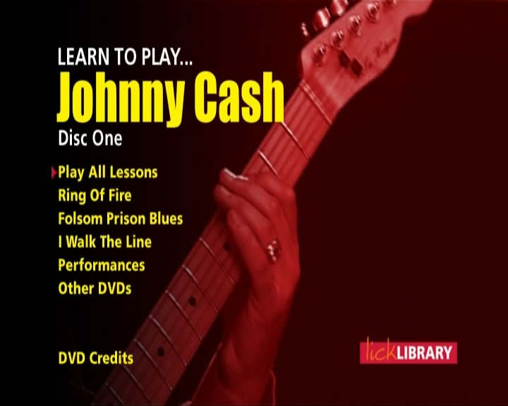 Learn To Play Johnny Cash