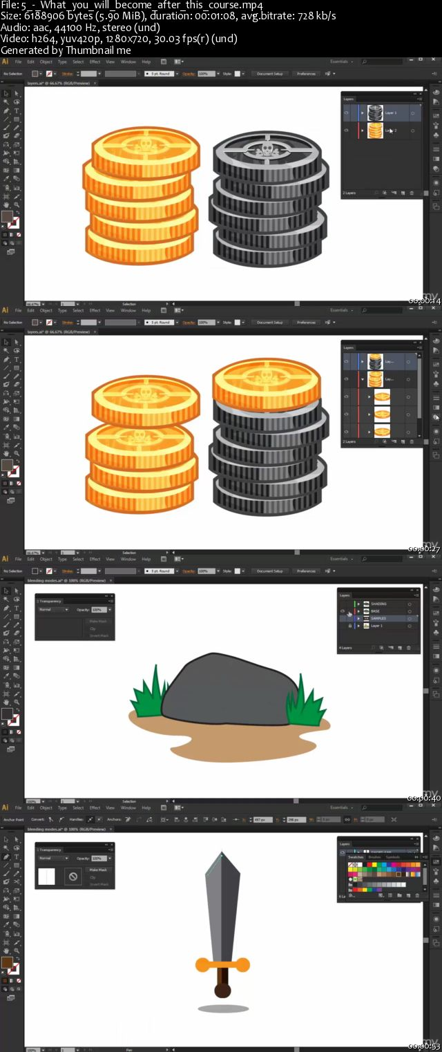 Make Mobile Game Art with Adobe Illustrator-Beginners Guide