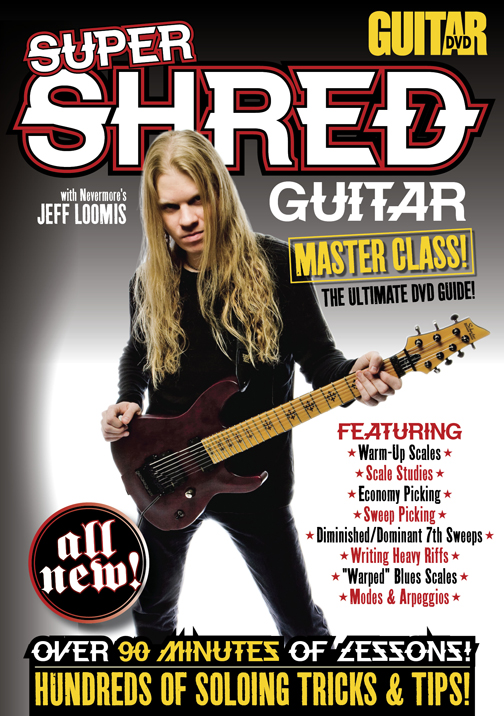 Jeff Loomis - Super Shred Guitar: Master Class (Repost)