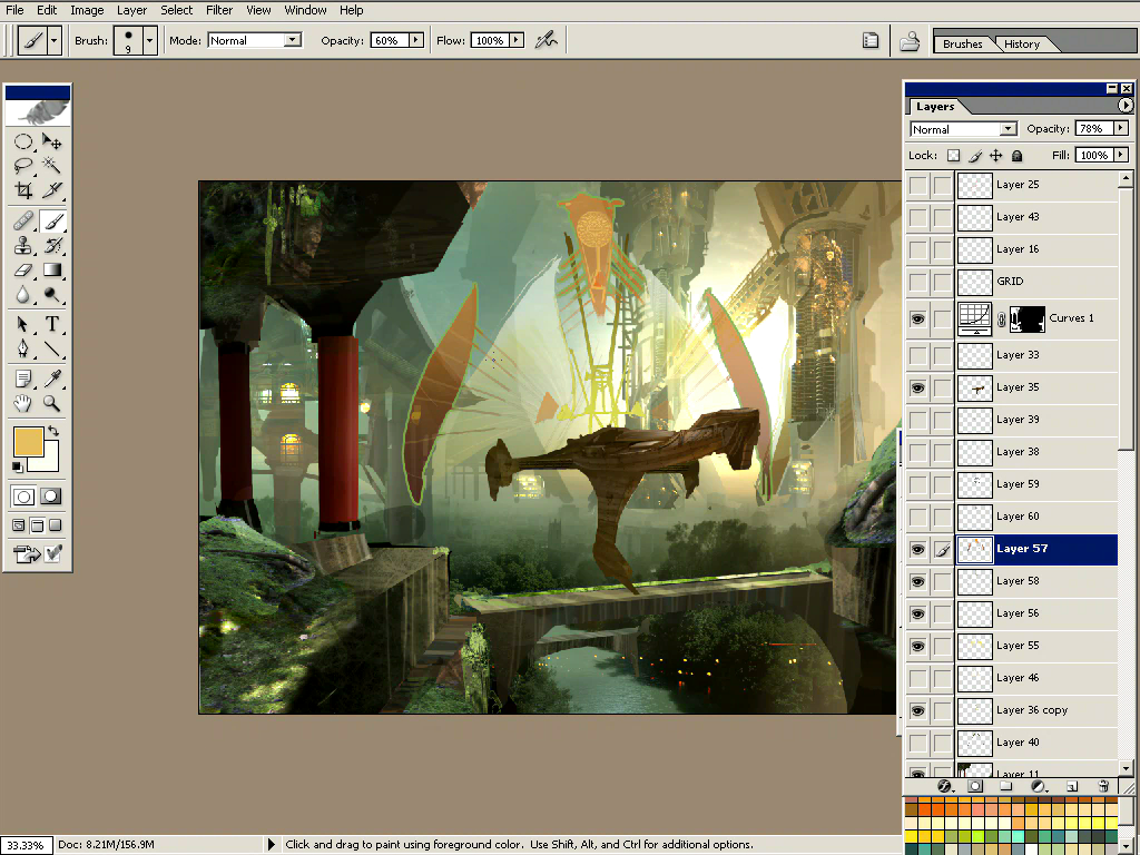 The Techniques of Christian Lorenz Scheurer 2: Advanced Digital Painting in Adobe Photoshop