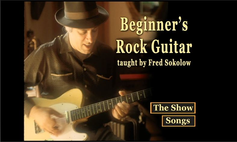 Beginner's Rock Guitar taught by Fred Sokolow