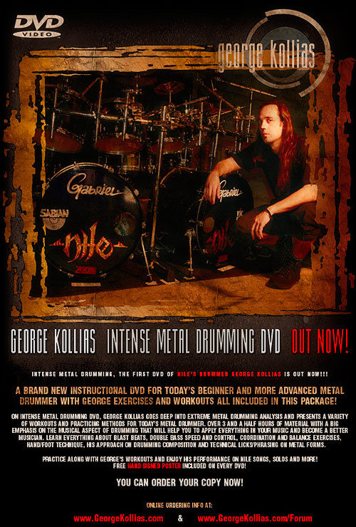 George Kollias - Intense Metal Drumming