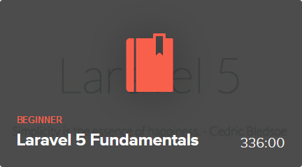 Laracasts - Laravel 5 Fundamentals (2015)