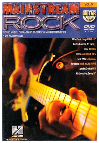 Mainstream Rock: Guitar Play-Along Vol. 5