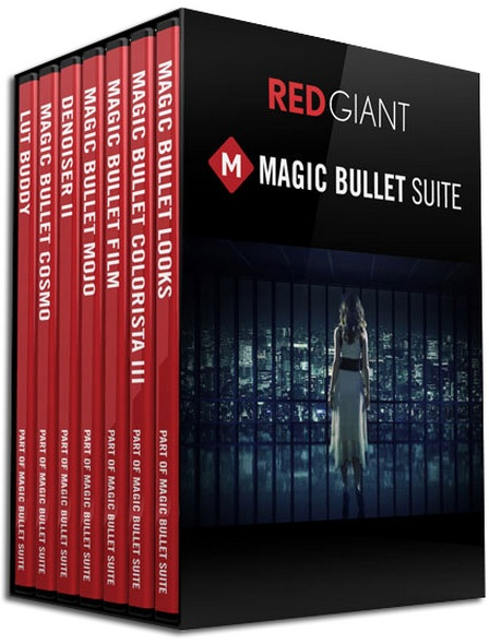 Red Giant Magic Bullet Suite 12.0.2 Mac OS X