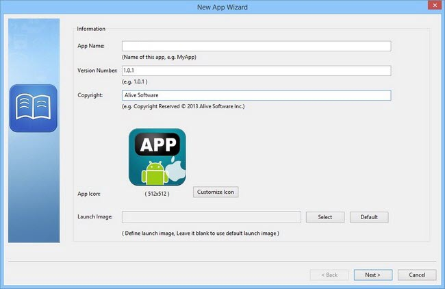 Alive Software iCreateApp Professional 2.0.4488