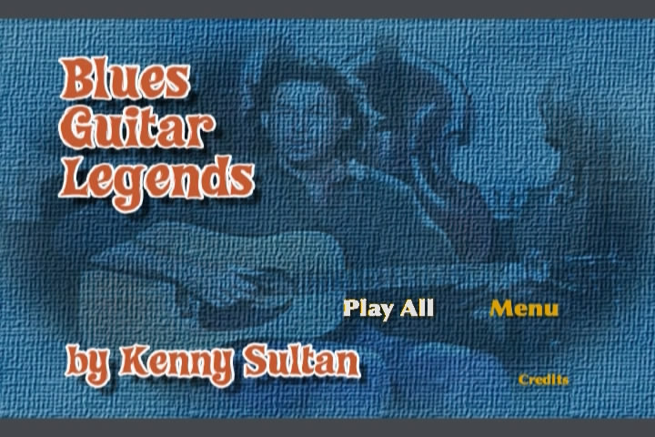 Kenny Sultan - Blues Guitar Legends [repost]