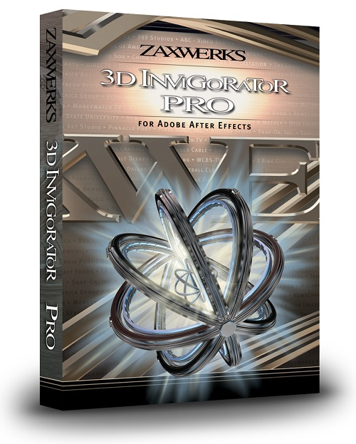 Zaxwerks 3D Invigorator PRO v8.5.0 for Adobe