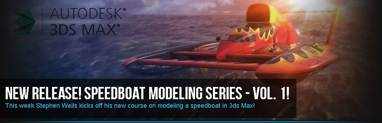 Speedboat Modeling Series Volume 1