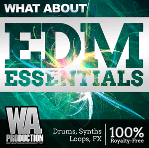 WA Production What About EDM Essentials WAV MiDi-DISCOVER screenshot