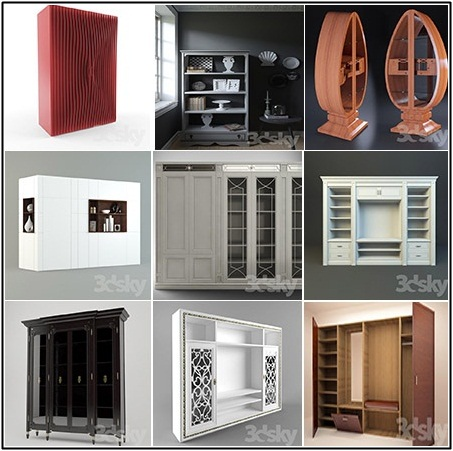 Wardrobe & Display Cabinets