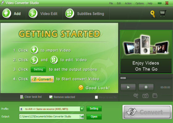 Apowersoft Video Converter Studio 3.1.7