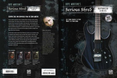 Alfred - Dave Martone's - Serious Shred: Advanced Scales - DVD (2012) [repost]