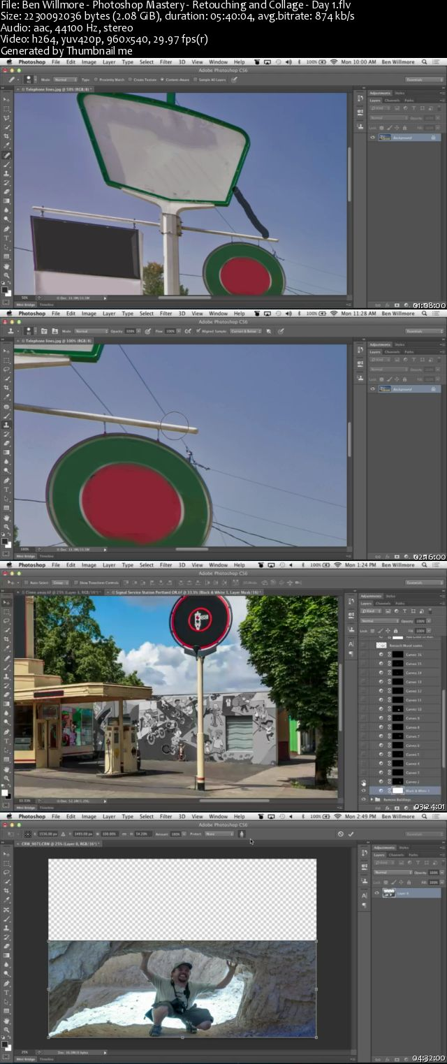 Photoshop Mastery: Retouching and Collage
