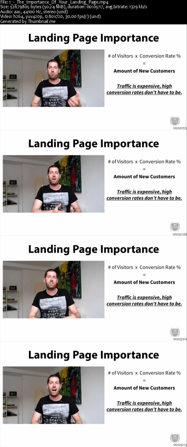 Landing Page Fundamentals, Buyer Psychology, and Conversions