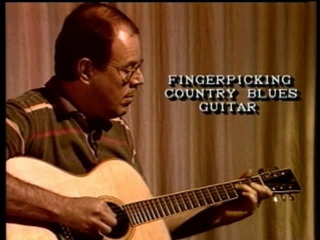 Fingerpicking Country Blues Guitar: A Repertoire Lesson